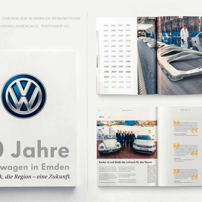 Christina_Rudnick_Portfolio, VW-Werk Emden, Chronik, Katalog