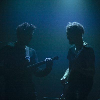 Jakub Żytecki, Plini, Simon Grove, Chris Allison, Melkweg Amsterdam, Niederlande, Europa, Conzert, progressive rock guitarist and musician, bassist, drummer
